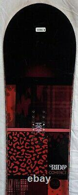 12-13 Ride Compact Used Women's Demo Snowboard Size 153cm #819633