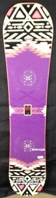 14-15 Salomon Spark Used Women's Demo Snowboard Size 136cm #819601
