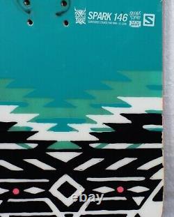14-15 Salomon Spark Used Women's Demo Snowboard Size 146cm #563706