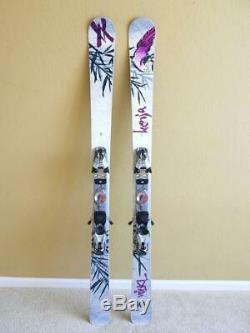 149cm VOLKL Kenja All Mountain Freeride Women Skis w MARKER Adjustable Bindings