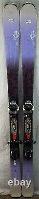 15-16 K2 LUVit 76 Used Women's Demo Skis withBindings Size 156cm #545257
