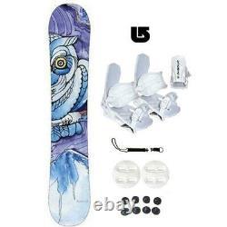 150cm Mystic Above & Beyond Women Snowboard+Bindings +Leash+burton decal Package