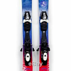 153 Nordica Santa Ana 93 2019/2020 Women's All Mountain Skis with Bindings USED