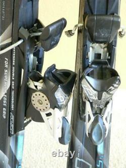 154cm VOLKL ATTIVA Supersport S5 Titanium Women's Skis with MARKER iPT Bindings