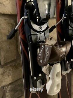 156 Salomon Jade All Mountain Women Skis with Salomon Z10 Adjustable Bindings EUC