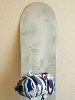 156cm Burton LIFE Feelgood 156 Women's All Mountain Snowboard with SIMS Bindings