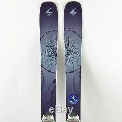159 Blizzard Black Pearl Women's All Mountain Skis with Marker Squire Bindings