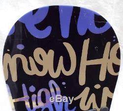16-17 Burton Socialite Used Women's Demo Snowboard Size 147cm #624302