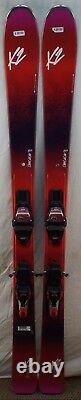 16-17 K2 Ooo La LUV 85 Ti Used Women's Demo Skis withBindings Size 156cm #620100
