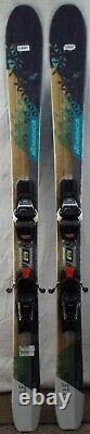 16-17 Nordica Belle 84 Used Women's Demo Skis withBindings Size 145cm #628057