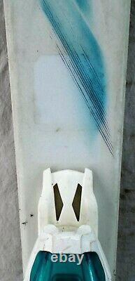 16-17 Salomon Kiana Used Womens Demo Skis withBindings Size 137cm #230305