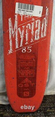 16-17 Salomon Myriad QST 85 Used Women's Demo Skis withBindings Size 153cm #347947