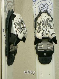 163 cm K2 TNine Lotta Luv All Mountain Women's Skis w MARKER FREE 11.0 Bindings