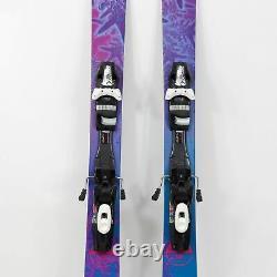 169 Nordica Santa Ana 93 Women's All Mountain Skis with Tyrolia SP13 Sympro Bind