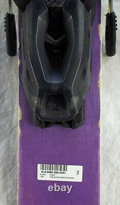 17-18 Blizzard Black Pearl 88 Used Women's Demo Skis withBinding Size 152cm#088062
