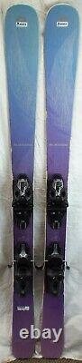 17-18 Blizzard Black Pearl Used Women's Demo Skis withBinding Size 152cm#346853