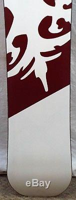 17-18 Never Summer Aura Used Womens Demo Snowboard Size 148cm #738352