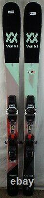17-18 Volkl Yumi Used Women's Demo Skis withBindings Size 147cm #230173