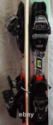 17-18 Volkl Yumi Used Women's Demo Skis withBindings Size 161cm #346951
