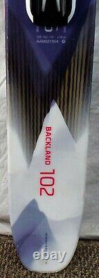 18-19 Atomic Backland 102 Used Womens Demo Skis withBindings Size 156cm #230061