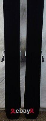 18-19 K2 Gottaluvit 105 Ti Used Women's Demo Skis with Bindings Size 156cm #230255