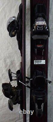 18-19 K2 Tough Luv Used Women's Demo Skis with Bindings Size 160cm #230253