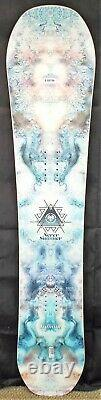 18-19 Never Summer Infinity Used Womens Demo Snowboard Size 145cm #888794
