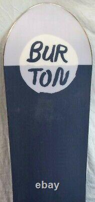 19-20 Burton Day Trader Used Women's Demo Snowboard Size 145cm #346676