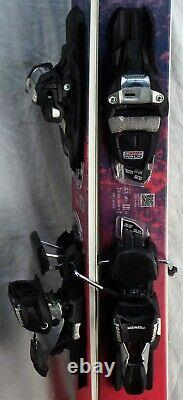 20-21 Nordica Santa Ana 93 Used Women's Demo Skis withBindings Size 158cm #347088