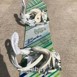 2008 Burton Feather 140 Snowboard with 2008 Ride VXN Bindings