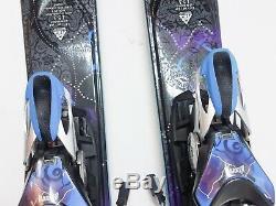 2013 K2 Superglide Women's All Mountain Skis Marker ERS 11.0 TC Binding 153 LKNU