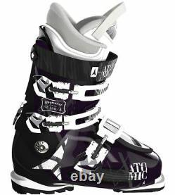 2014 Atomic Waymaker Carbon 100 Purple & Black 26.5 Women's Ski Boots