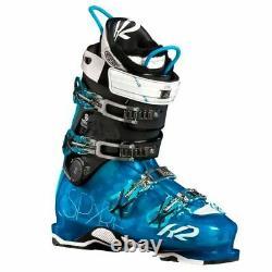 2014 K2 SpYre 110 Blue 27.5 Womens Ski Boots