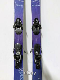 2016 Blizzard Black Pearl 88 all mountain womens skis 152cm excellent condition