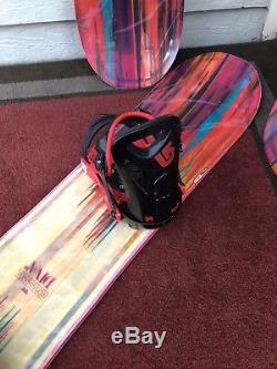 2017 Rossignol Diva Magtek Womens 152cm Snowboard with Burton Progression Bindings