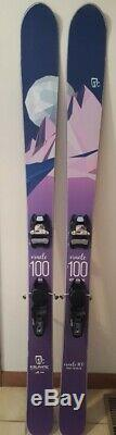 2018 Woman's Icelantic Oracle 100 Powder & All Mountain Skis 165 cm