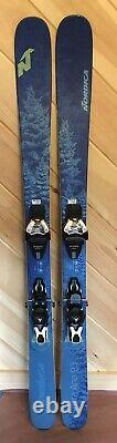 2019 161 cm Nordica Santa Anna 93 demo women's skis + Atomic Warden 11 bindings