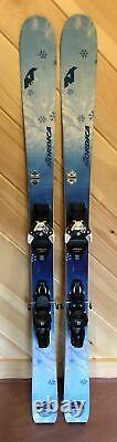 2019 Nordica Astral 84 demo skis +Salomon Warden 11 bindings 144 151 or 158 cm