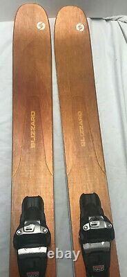 2020 Blizzard Sheeva 11 172 cm Women's Demo Skis With Marker Squire