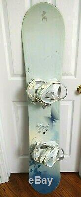5150 Empress Snowboard Size 154 CM With Large Bindings
