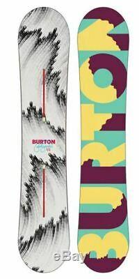 $580 Burton Feelgood Flying V 144cm Womens Snowboard NWT Freestyle All Mountain