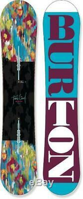 $590 Burton Feelgood Flying V 144 cm Womens Snowboard NWT Freestyle All Mountain