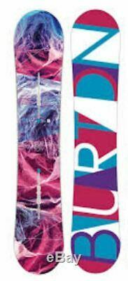 $610 Burton Feelgood Flying V 149 cm Womens Snowboard NWT Freestyle All Mountain