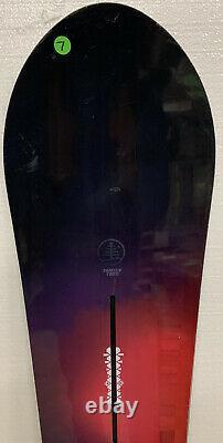 #7 Burton Family Tree Day Trader Snowboard 145cm Powder All Mountain Womens