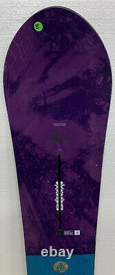 #8 Burton Family Tree Day Trader Snowboard 145cm Powder All Mountain Womens 18