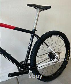 All-City Log-Lady SS mountain bike custom build
