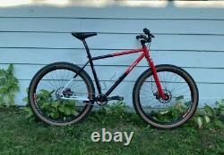 All City Log Lady Single Speed Mountain Bike Large - Surly, White Industries