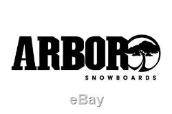 Arbor Push 48 Women's Snowboard 148 cm With Flow Bindings