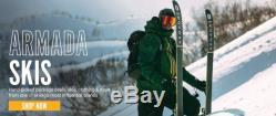 Armada ARW 86 Women's Skis 2019 All Mountain Freestyle Freeride New