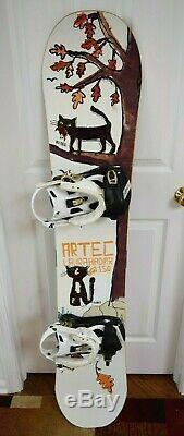 Artec Laura Hadar Snowboard Size 150 CM With K2 Large Bindings